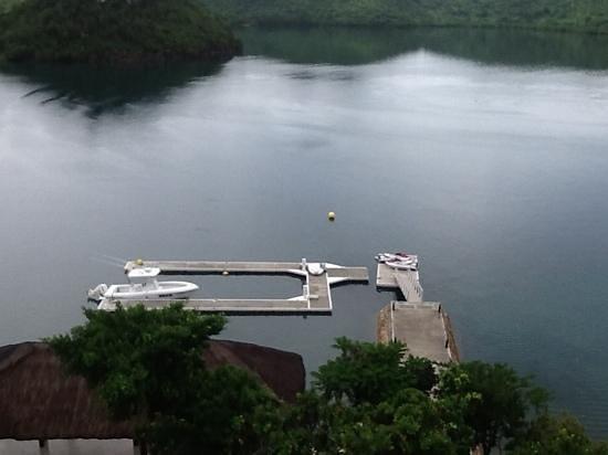 Busuanga Bay Lodge: marina
