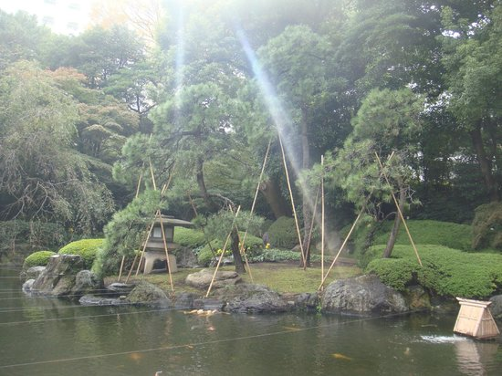 Grand Prince Hotel Takanawa : jardin