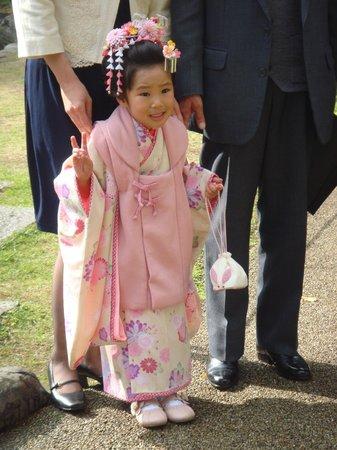 Grand Prince Hotel Takanawa : photo de famille dans le jardin de l'hotel