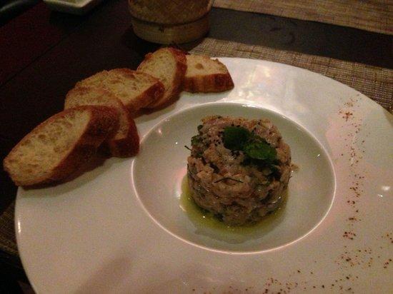 Tangor : Signature dish: Ceviche