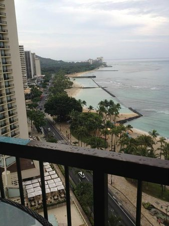 Hyatt Regency Waikiki Resort & Spa: オーシャンフロントから