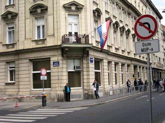 Zagreb Inside: Prédio característico do centro histórico