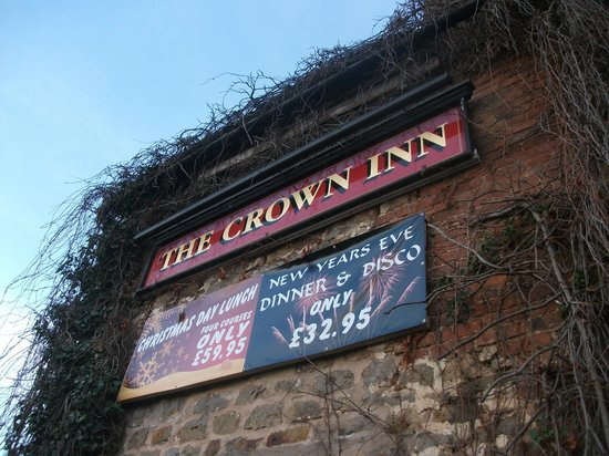 The Hopton Crown: sign