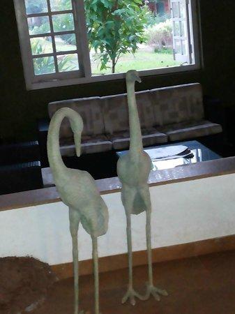 The Fern Samali Resort : Reception Lobby
