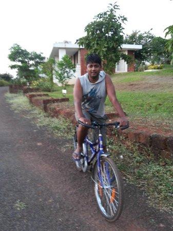 The Fern Samali Resort : Cycling