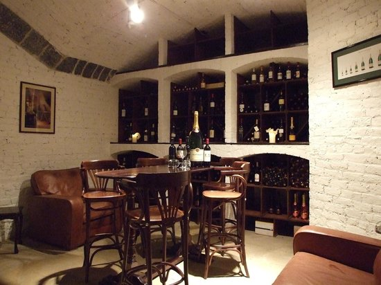 Middleton Park House: Our wine cellar.