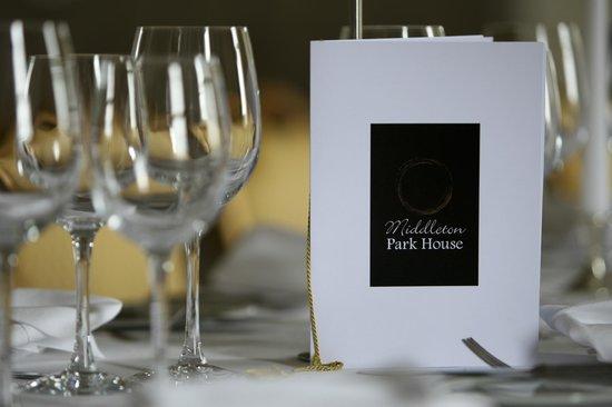 Dining at Middleton Park House