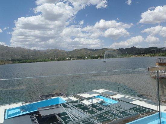 Hotel Potrero de Los Funes: plataforma en construccion