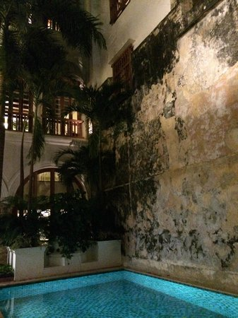 Hotel Casa San Agustin : The pool area which is beautiful.