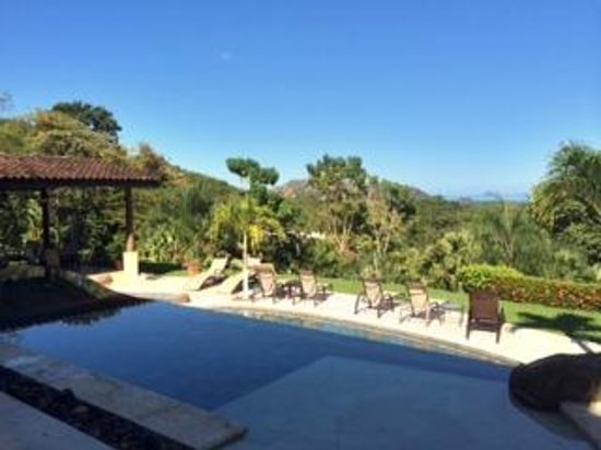 Villa Buena Onda: Pool view