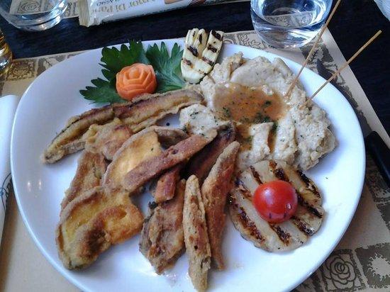 Via Vai: funghi fritti con taragna
