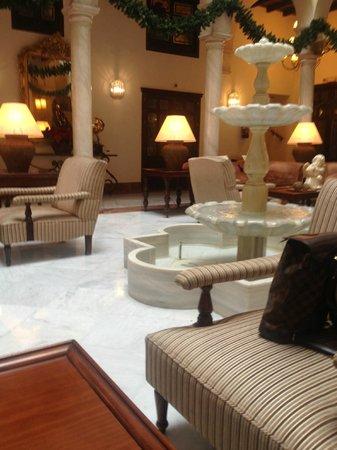 Vincci La Rabida Hotel: Ambiente navideño