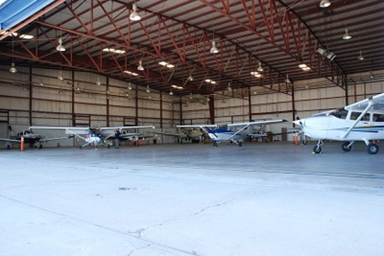 Coyote Flight Centers: Our hangar...