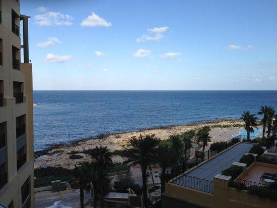 Hilton Malta : hotel view