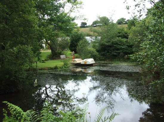 Chycara House: One of our lakes