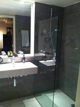 Sandton Hotel Brussels Centre: Salle de bains