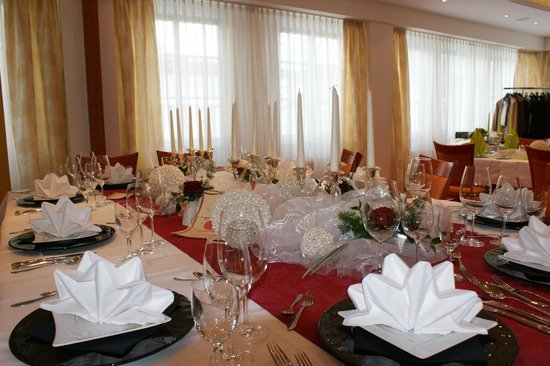 Konditorei Kurcafe: Hochzeitstisch