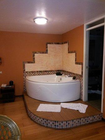 Taypikala Hotel Machupicchu: Nice room with bath for two