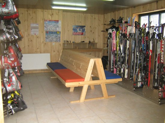 Sylpaulerhof: Skistall