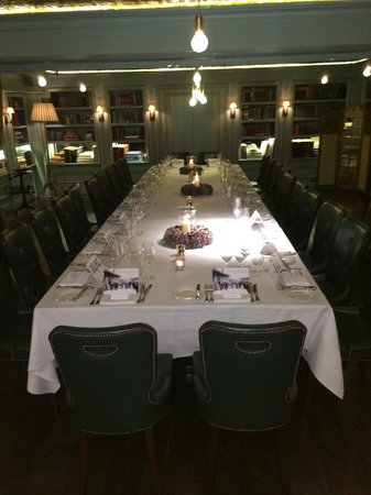Bentley's Oyster Bar & Grill : Private Dining