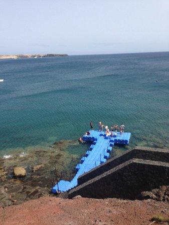 THe Mirador Papagayo: Playa del hotel