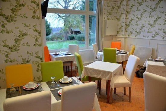 Chateau Corneille : Salle du petit déjeuner