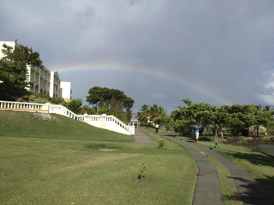 Grenadian by Rex Resorts: after the sunshine there will be rain