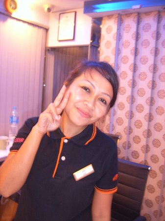 Smart Suites : reception and very helpful/friendly staff