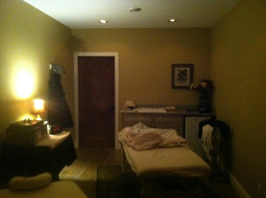Goldmoor Inn: The Massage room