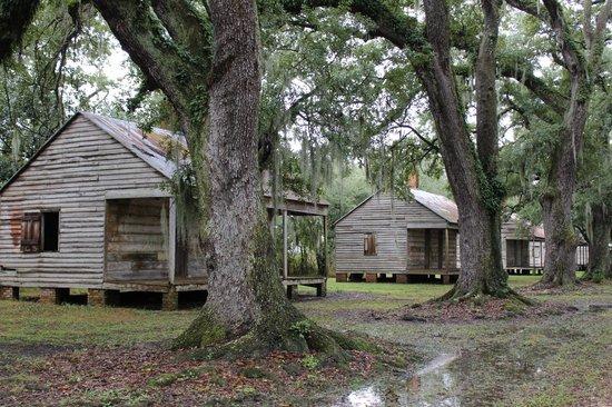 Evergreen Plantation: Slave Cabins