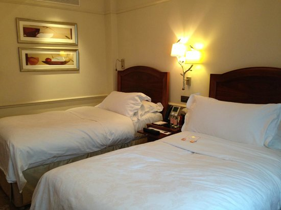 The Langham, London: the beds