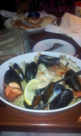 Red Lobster: muy bueno y buenas porciones