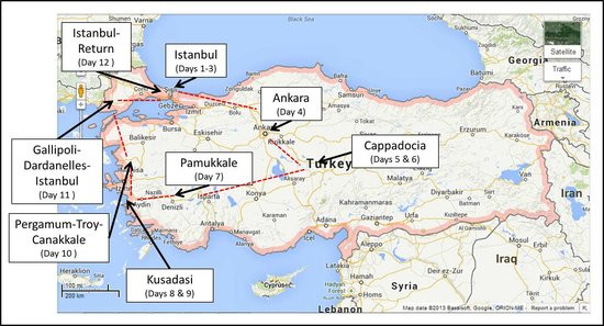 "Neon Tours - Day Tours: ""Classics of Turkey"" Itinerary"