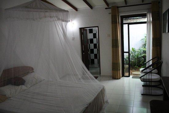 Sundaras Resort & Spa : номер с мини-садиком