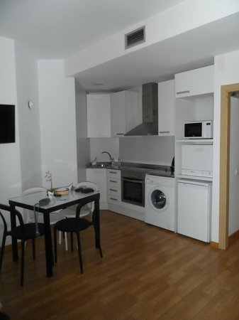 Apart-Suites Hostemplo : Cocina completa