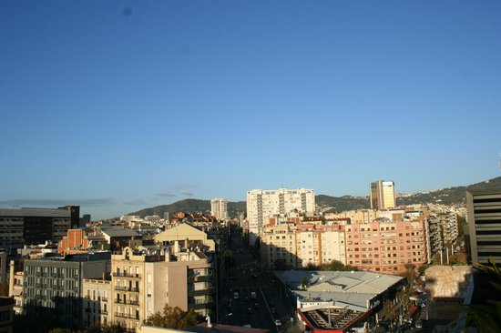U232 Hotel : view from terrace room 909