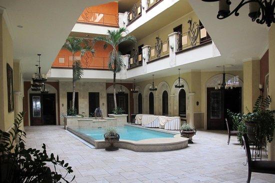 Hotel Gran Mediterraneo: Central core
