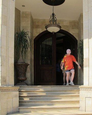 Hotel Gran Mediterraneo: Entrance