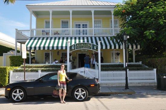 Avalon Bed and Breakfast: Fachada do Hotel