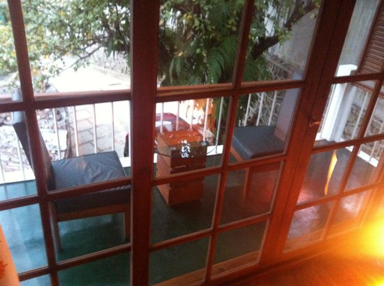 The Pear Tree: Balcony with outdoor seating