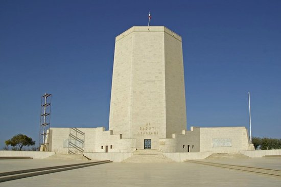 El Alamein War Cemetery: Sacrario Militare Italiano di El Alamein