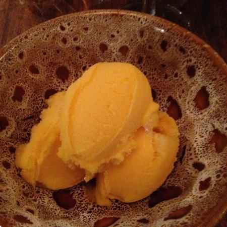 Jamie's Italian: Mango sorbet