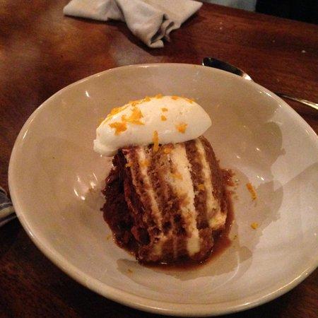 Jamie's Italian: Tiramisu, not our favorite