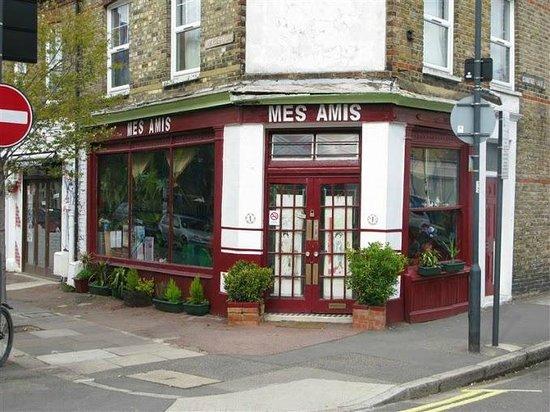 Mes Ami Restaurant Picture Of Mes Amis London Tripadvisor
