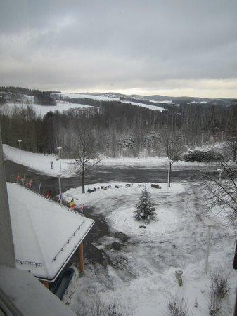 Hotel Wartburg Winterberg: Blick aus dem Zimmerfenster