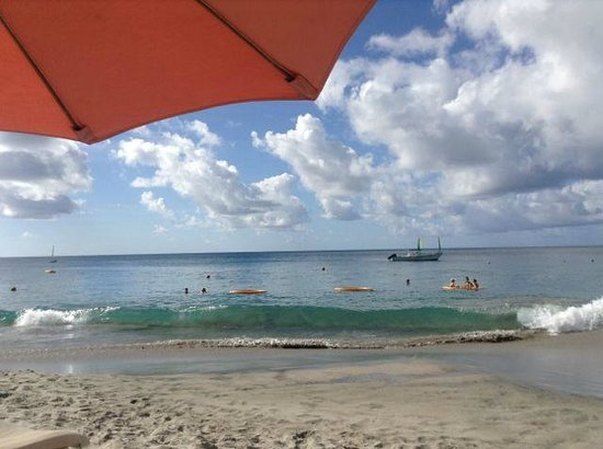 BodyHoliday Saint Lucia : view from beach chair