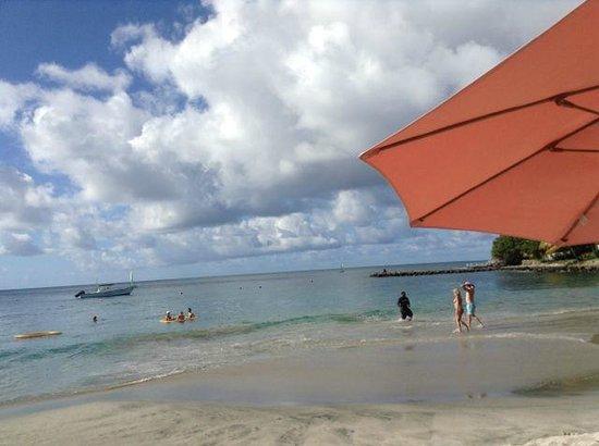 BodyHoliday Saint Lucia: on the beach