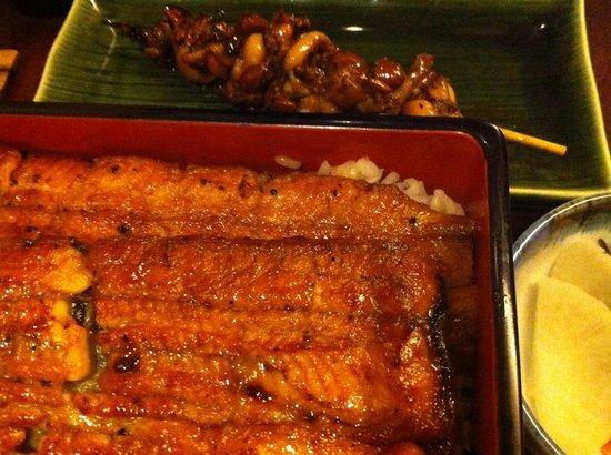 Nodaiwa : kimoyaki,unajyu-kiku