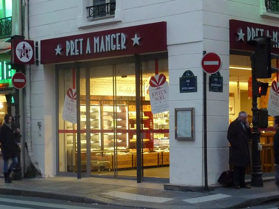 pret a manger paris 57 rue des petits champs louvre palais royal restaurant bewertungen. Black Bedroom Furniture Sets. Home Design Ideas