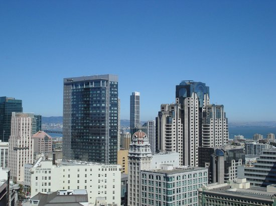 Hotel Nikko San Francisco: View from the club room on 26th floor!